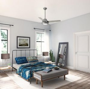 selecting the best bedroom ceiling fan with lights